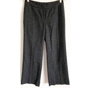 Anthro | Halogen petite wool speckled career pants